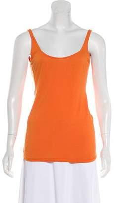 Elizabeth and James Scoop Neck Sleeveless Top