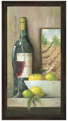 Asstd National Brand Vintage Wine II Framed Print