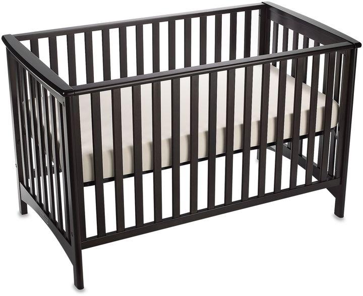 Child Craft London 3-in-1 Euro Style Convertible Crib in Jamocha