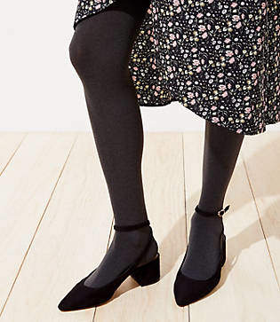 LOFT Maternity Essential Tights