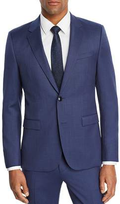 HUGO Astian Micro-Birdseye Slim Fit Suit Jacket