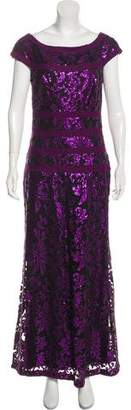 Tadashi Shoji Sequin Maxi Dress
