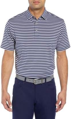 Peter Millar Camelot Stripe Stretch Jersey Polo