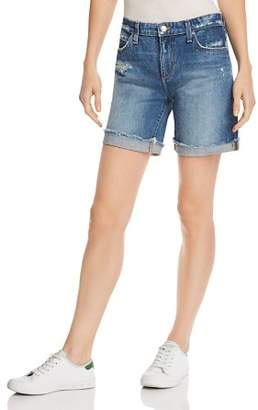 Joe's Jeans Roll-Up Denim Shorts in Lannah