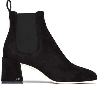Dolce & Gabbana Vally Black Heel Boots