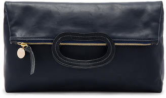 Clare V. Marcelle Maison Foldover Clutch $265 thestylecure.com