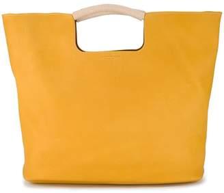 Simon Miller Yellow Birch large leather tote bag