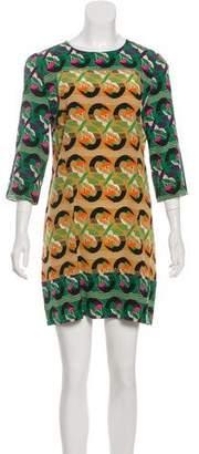 Marni Geometric Mini Dress