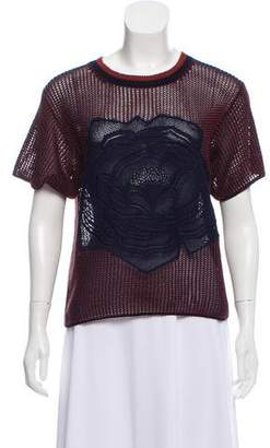 Stella McCartney Knitted Short Sleeve Sweater