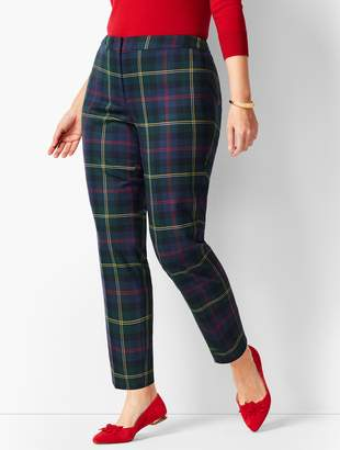 dbf71514220 Talbots Plaid Hampshire Ankle Pants