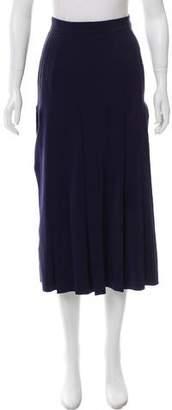 Chanel Plisse Midi Skirt