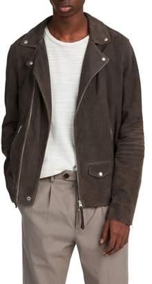 AllSaints Kano Suede Moto Jacket