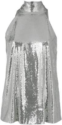 Galvan sleeveless sequin top
