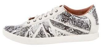 Alexander McQueen x Puma Python Leather Sneakers