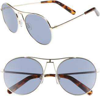 Seafolly Portsea 54mm Aviator Sunglasses