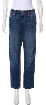 Isabel Marant High-Rise Straight-Leg Jeans