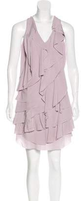 Derek Lam Silk Ruffled Dress