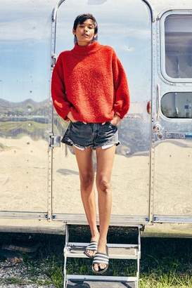 Ragdoll LA DROP SHOULDER SWEATER Red