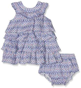 NECK & NECK 17V01202.23 Small Girls' Fabric Dress