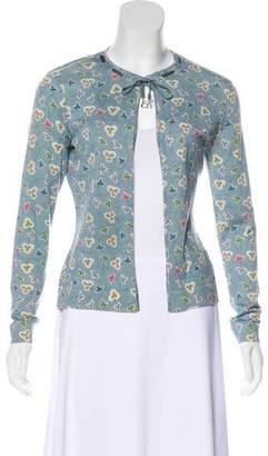 Christian Dior Embellished Knit Cardigan