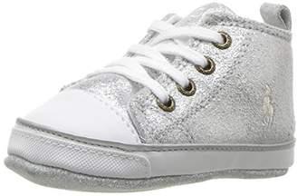 Ralph Lauren Girls' Sag Harbour Hi Silver Boot