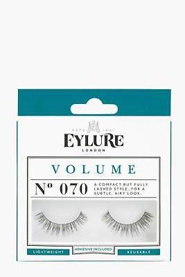boohoo NEW Womens Eylure Volume False Lashes - 070 in Black size One Size
