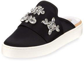 Badgley Mischka Seline Embellished Sneakers Mule