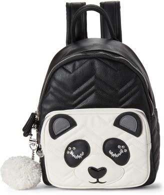 Betsey Johnson Black & White Panda Backpack