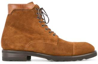 Magnanni classic lace-up boots