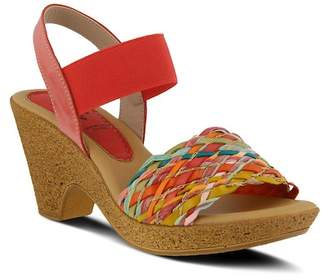 Spring Step Batsheva Braided Sandal