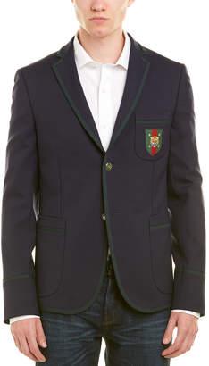 Gucci Cambridge 70S Stretch Twill Wool-Blend Jacket