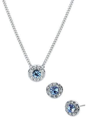 Givenchy Pavé Necklace & Earrings Set