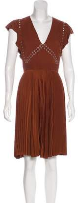 A.L.C. Sleeveless Pleated Dress
