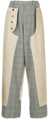 Kolor panelled trousers