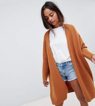 Asos DESIGN Petite eco oversize cardigan in fluffy yarn