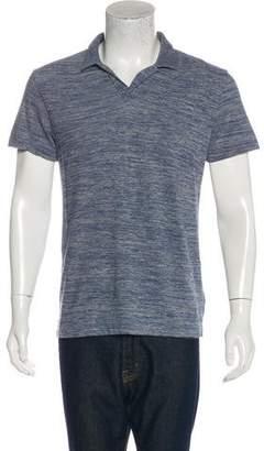 Theory V-Neck Polo Shirt