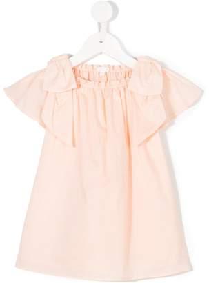 Chloé Kids bow detail dress