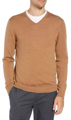 Bonobos Slim Fit V-Neck Merino Wool Sweater