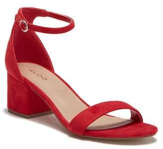 Aldo Mellisa Block Heel Sandal
