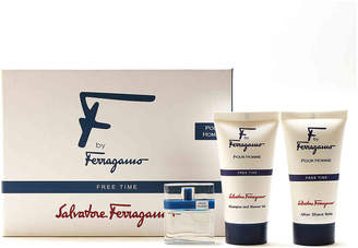 Salvatore Ferragamo Fragrance F by Free Time Eau de Toilette Spray Set - Men's