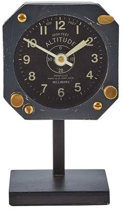 Pottery Barn Navigator Table Clock
