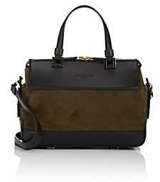 Tomasini Women's Artemis Leather & Suede Satchel-Khaki, Blk