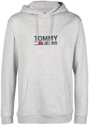 Tommy Jeans logo hooded sweatshirt