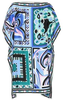 Emilio Pucci Beach Printed silk minidress