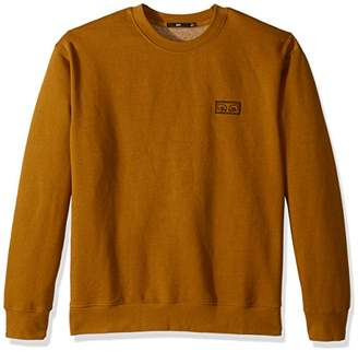 Obey Men's These Eyes Crew Neck Fleece Sweatshirt