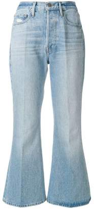 Frame Rigid cropped jeans