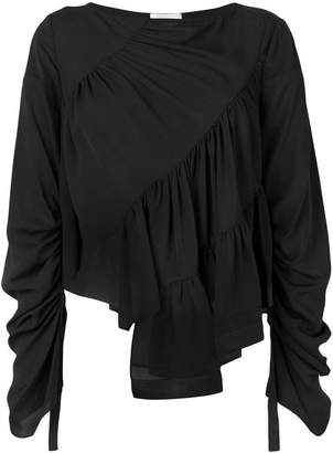 3.1 Phillip Lim long sleeve ruffle blouse