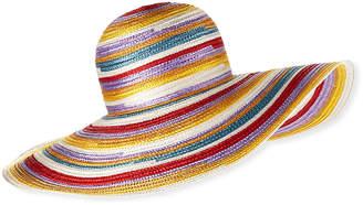 Missoni Big Striped Woven Floppy Sun Hat