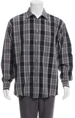 Burberry Check Casual Shirt