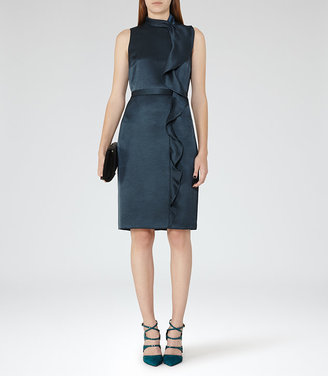Lola Ruffle-Front Dress $360 thestylecure.com